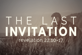 Revelation 22 last invite