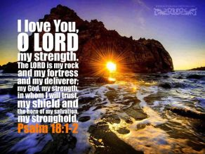 Psalm 18 1 love you