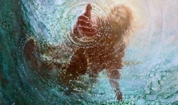 Psalm 18 Jesus reaches down for us