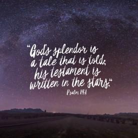 Psalm 19 1