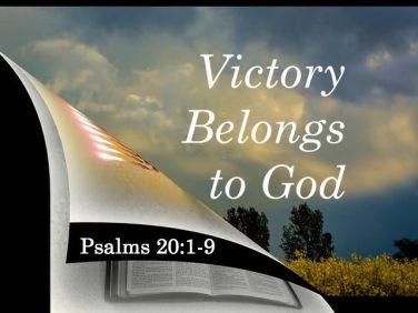 Psalm 20 victory