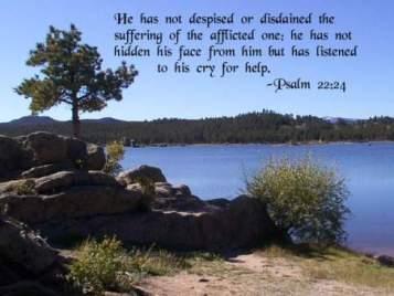 Psalm 22 listens