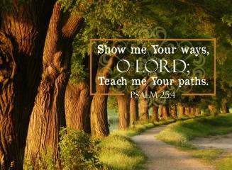 Psalm 25, teach me.jpg