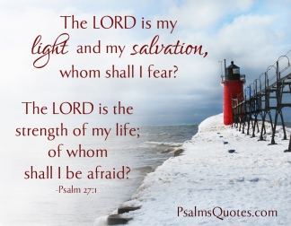 Psalm 27 no fear