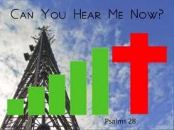 Psalm 28 hear me