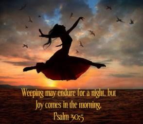 Psalm 30 joy