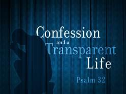 Psalm 32 confess