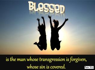 Psalm 32 sins gone