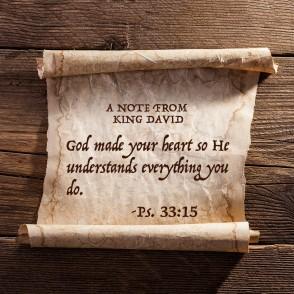 Psalm 33 God knows