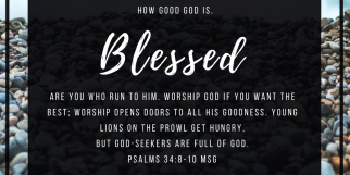 Psalm 34 blessed