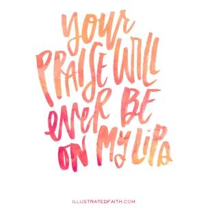 Psalm 34 ever praise