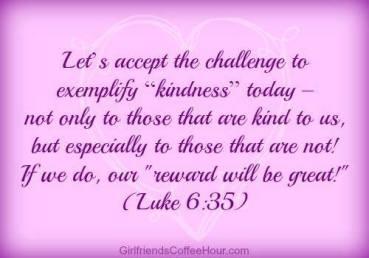 Psalm 35 Luke challenge