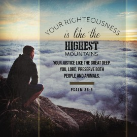 Psalm 36 justice