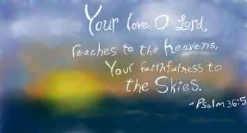 Psalm 36 your love