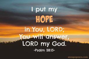 Psalm 38 hope
