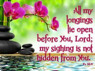 Psalm 38 sigh