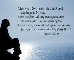 Psalm 39 save me