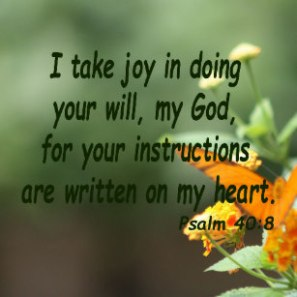 Psalm 40 8