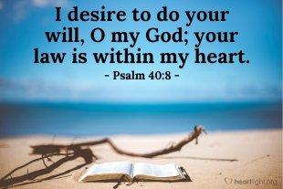 Psalm 40 Gods Word