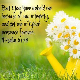 Psalm 41 integrity
