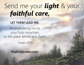 Psalm 43 God