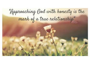 Psalm 44 honest