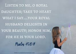 Psalm 45 royal
