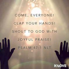 Psalm 47 clap