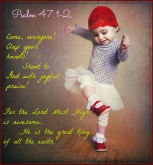 Psalm 47 pure praise