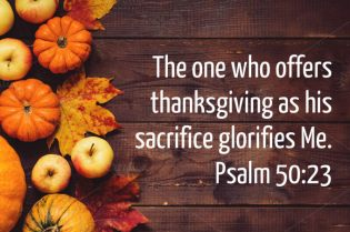PSalm 50 thanksgiving