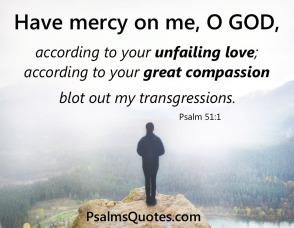 Psalm 51 blot out