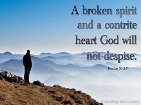 Psalm 51 contrite