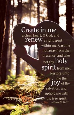 Psalm 51 create in me