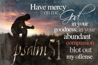 Psalm 51 mercy