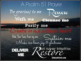 Psalm 51 renew