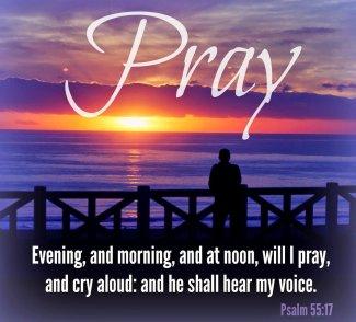 Psalm 55 pray