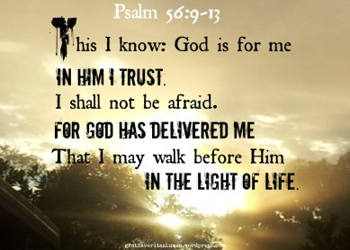 Psalm 56 God keeps me
