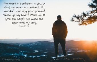 Psalm 57 wake up