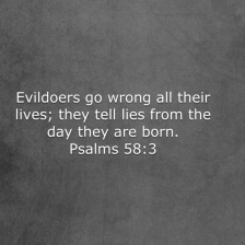 Psalm 58 3
