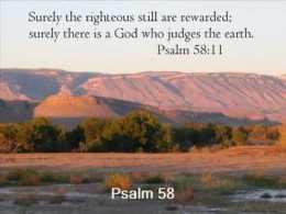 Psalm 58 judges