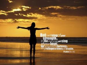 Psalm 59 refuge