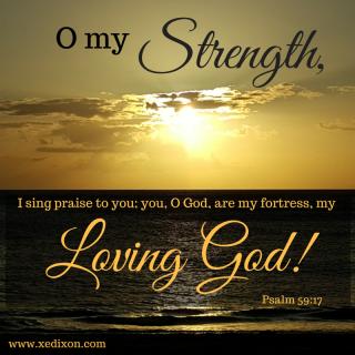 Psalm 59 strength