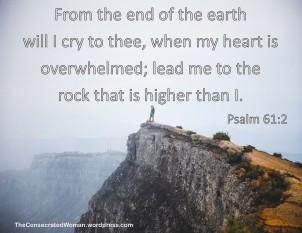 Psalm 61 rock