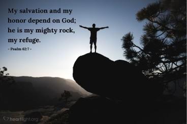 Psalm 62 honor
