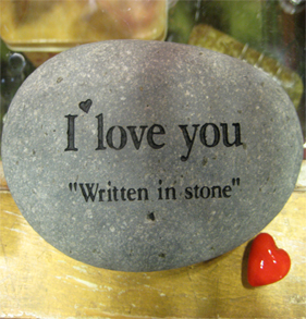 Psalm 62 love in stone
