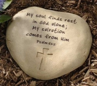 Psalm 62 rock of my salvation
