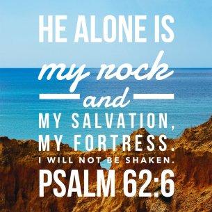 Psalm 62 rock