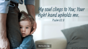 Psalm 63 soul clings