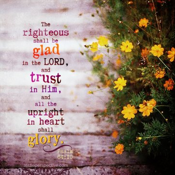 psalm 64 glorify God