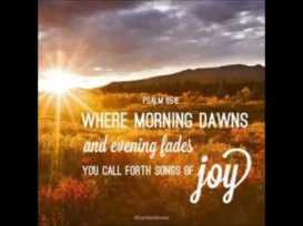psalm 65 joy
